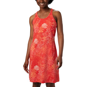 Columbia Peak To Point Vestido Punto Mujer, bright poppy got florals
